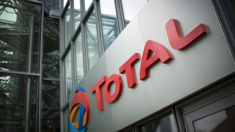 Logo von Total: Druck von Aktivisten aus Myanmar