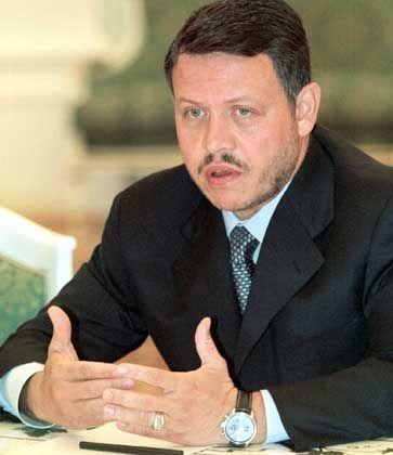 Jordaniens König Abdallah II: Israel eine Mitschuld gegeben