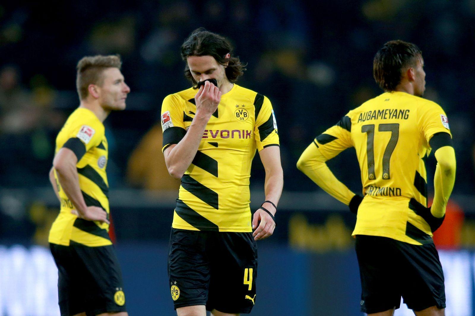 Borussia Dortmund/ Enttäuschung