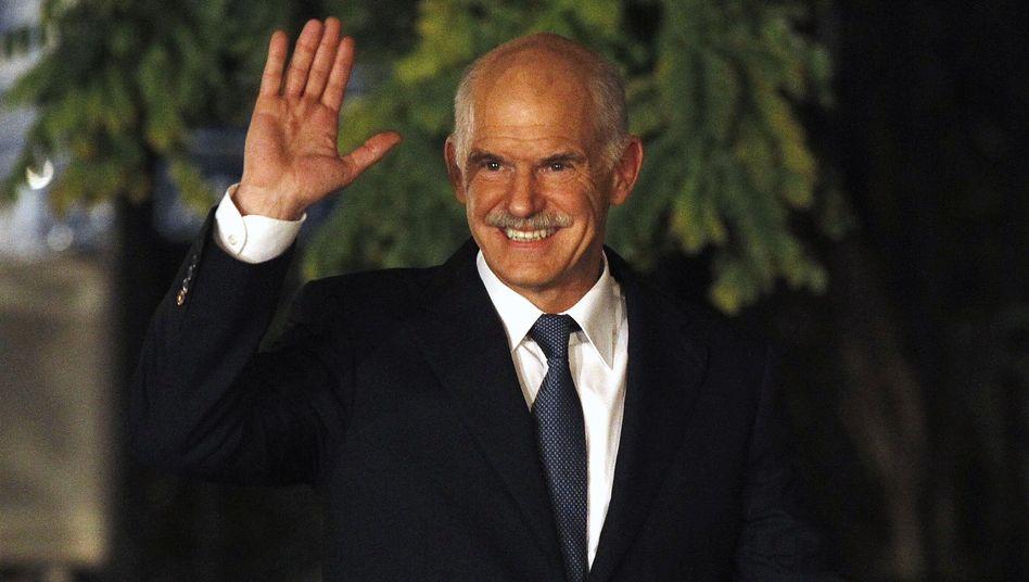 Greek Prime Minister Giorgios Papandreou stepped down on Wednesday.
