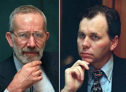Warren und Marshall (Archivbild von 1997): Auftakt im Nobelpreisreigen