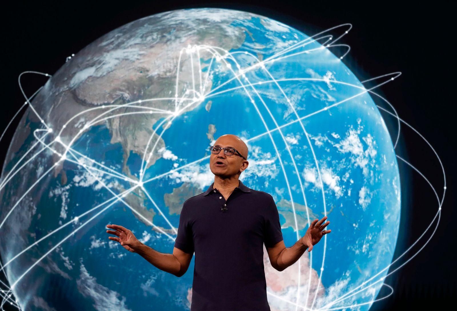 Microsoft Build/ Satya Nadella