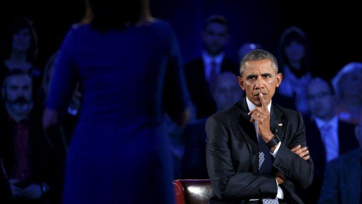 US-Präsident: Obama beim Bürgerdialog