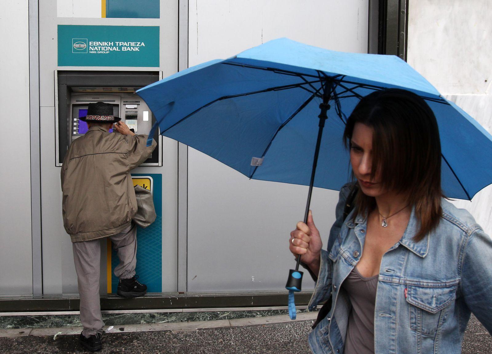 Griechenland/ Bankautomat