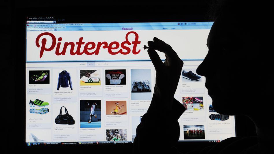 Pinterest-Website