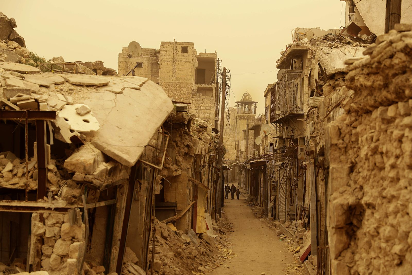 SYRIA-CONFLCIT-ALEPPO