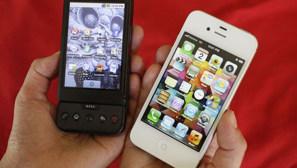 HTC- und Apple-Smartphones: Teurer Rechtsstreit mit geringer Wirkung?