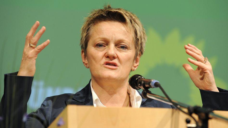 """Grünen-Fraktionschefin Künast: """"Gespräch mit Ministerpräsidenten ist keine Werbung"""""""