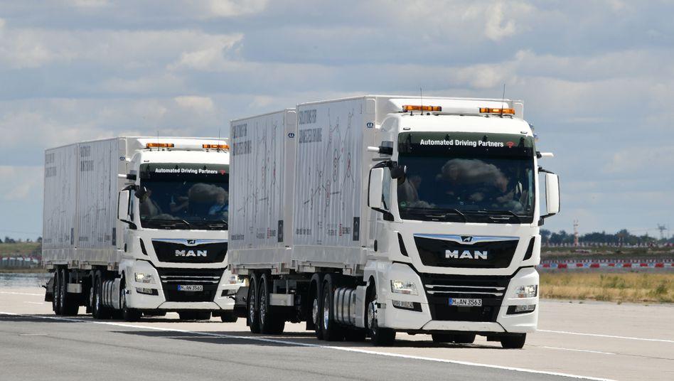Trucks von MAN (Archivbild)