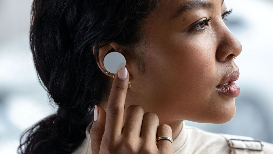 Unverkennbares Design: Die Surface Earbuds