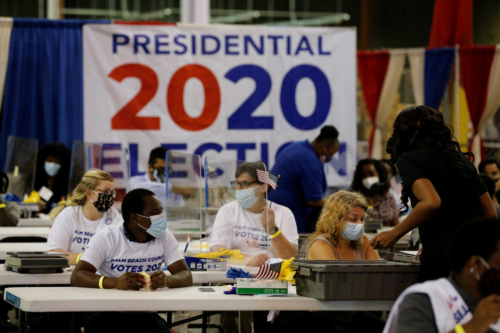 The 2020 U.S. presidential election in West Palm Beach