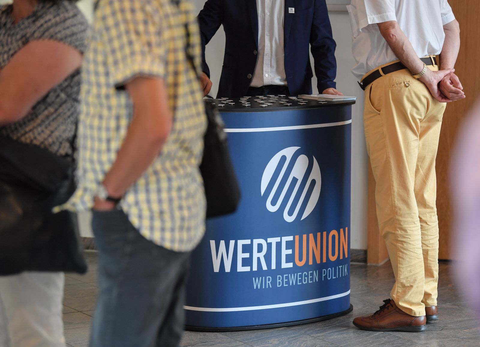 Wahlkampftermin der CDU mit Hans-Georg Maaßen