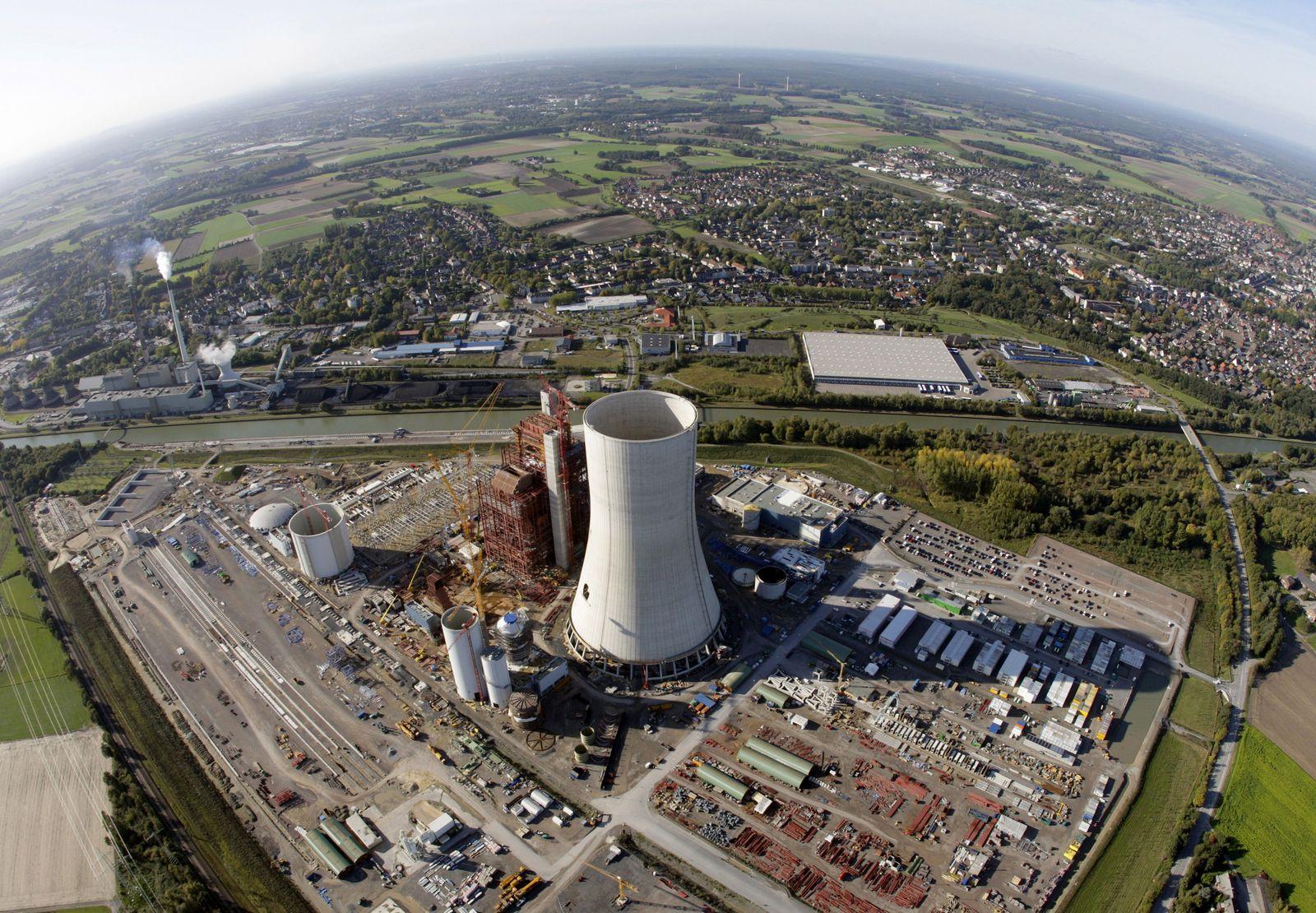 Großprojekte / Kohlekraftwerk Datteln