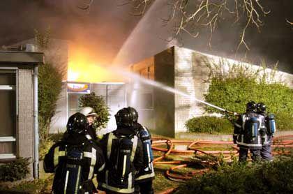 Feuerwehreinsatz in Uden: Die Koran-Schule brannte vollständig aus