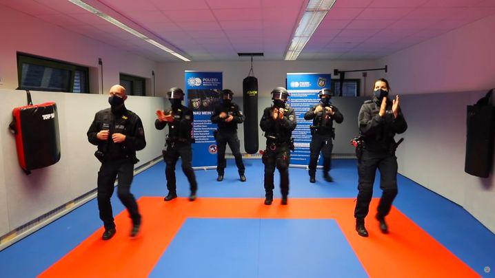 »Jerusalema Challenge« der Polizei im Märkischen Kreis, NRW