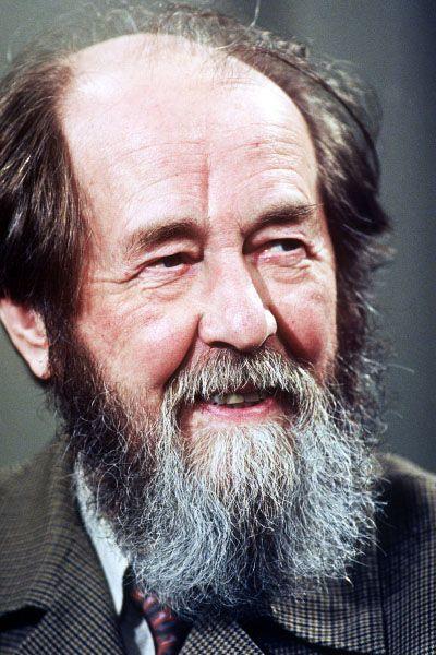 Alexander Solzhenitsyn died on Sunday.