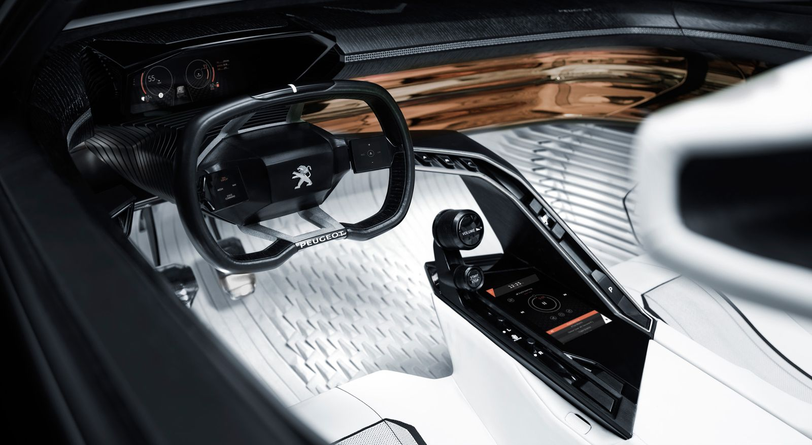 2015 / IAA / Cabrio / Peugeot Fractal