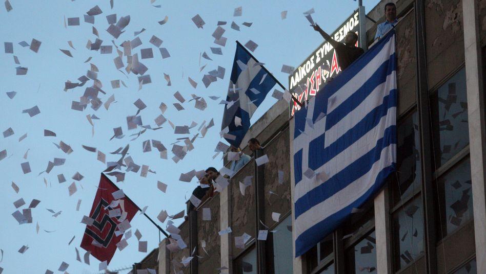 Wahl in Griechenland: Peitschenhiebe für die Euro-Retter