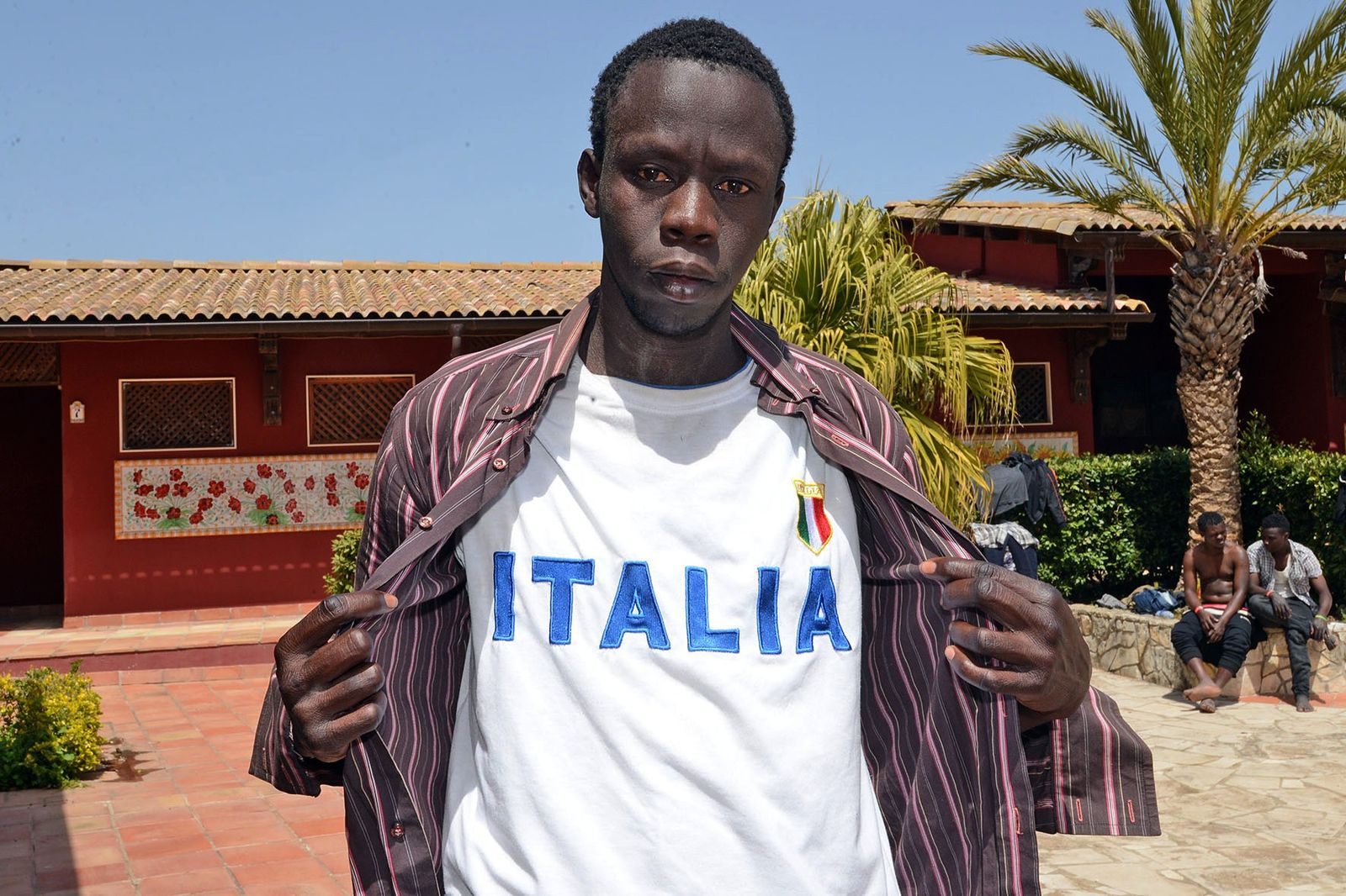ITALY-IMMIGRATION-CENTER