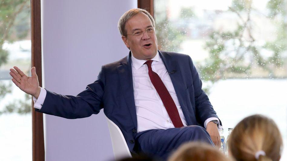 CDU-Chef Armin Laschet auf seiner Wahlkampftour
