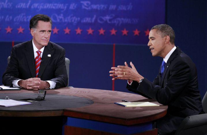 Romney, Obama: Noch halten sich die Kontrahenten mit direkten Angriffen zurück