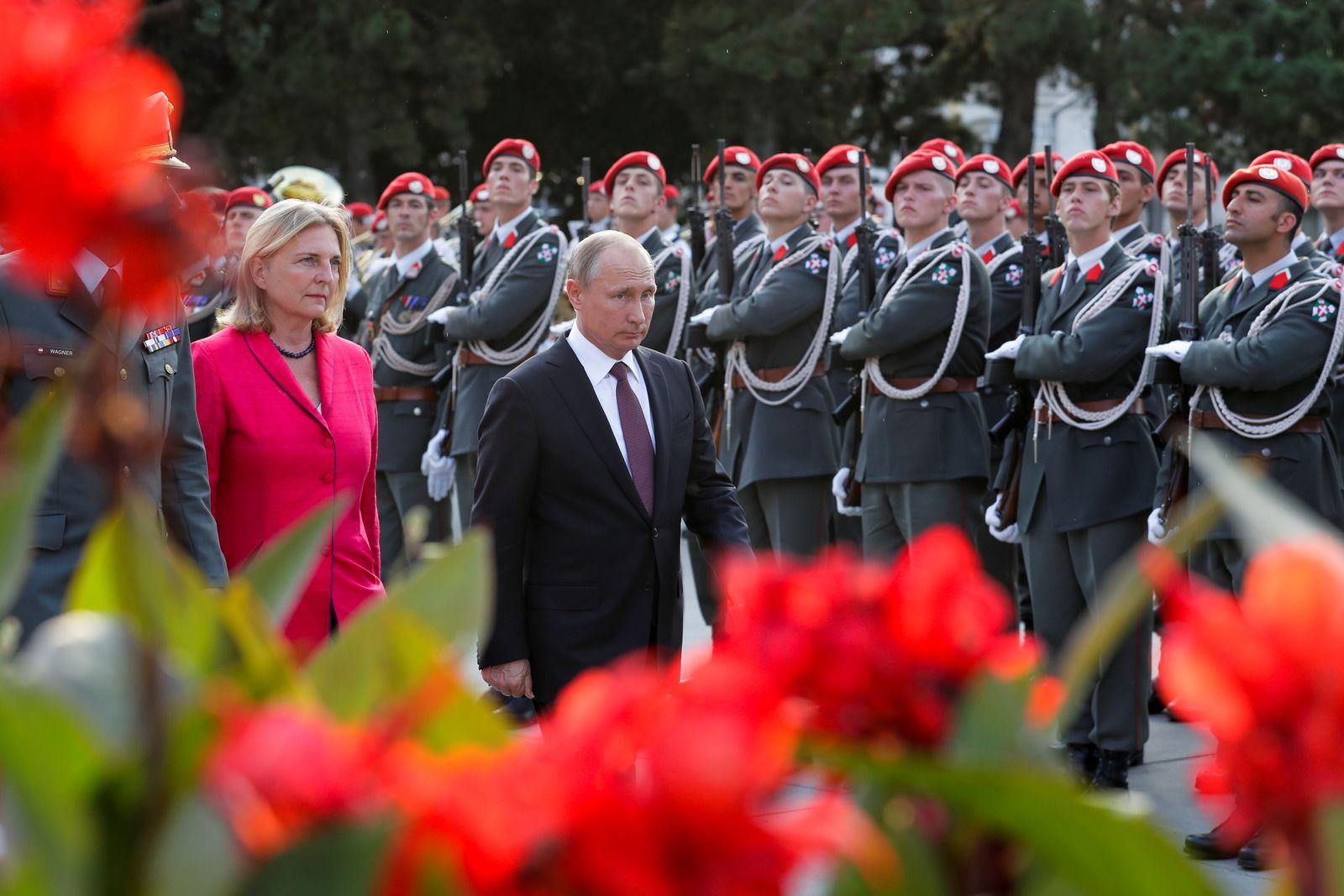 Kneissl/ Putin