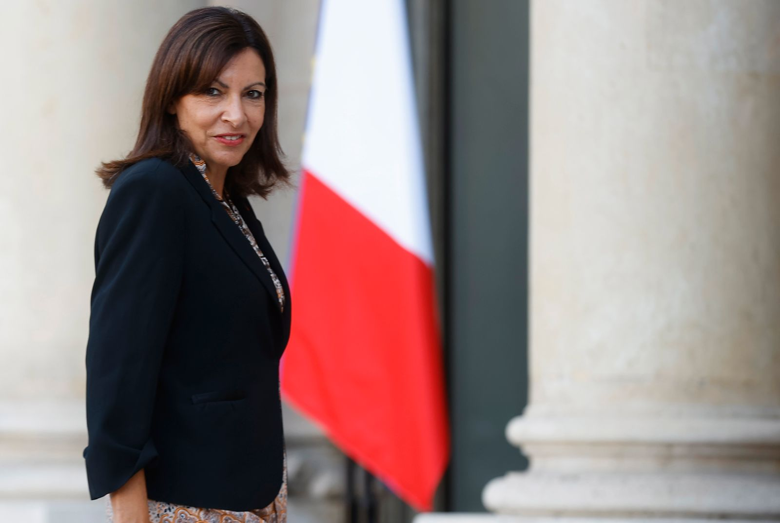 Mayor of Paris and Presidential candidate Hidalgo attends Olympic ceremony at Elysee in Paris