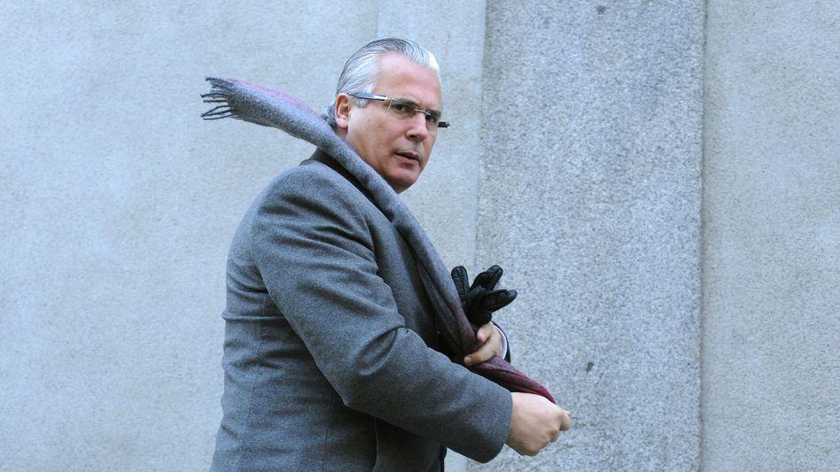 Garzón vor Gericht in Madrid: Berufsverbot ausgesprochen
