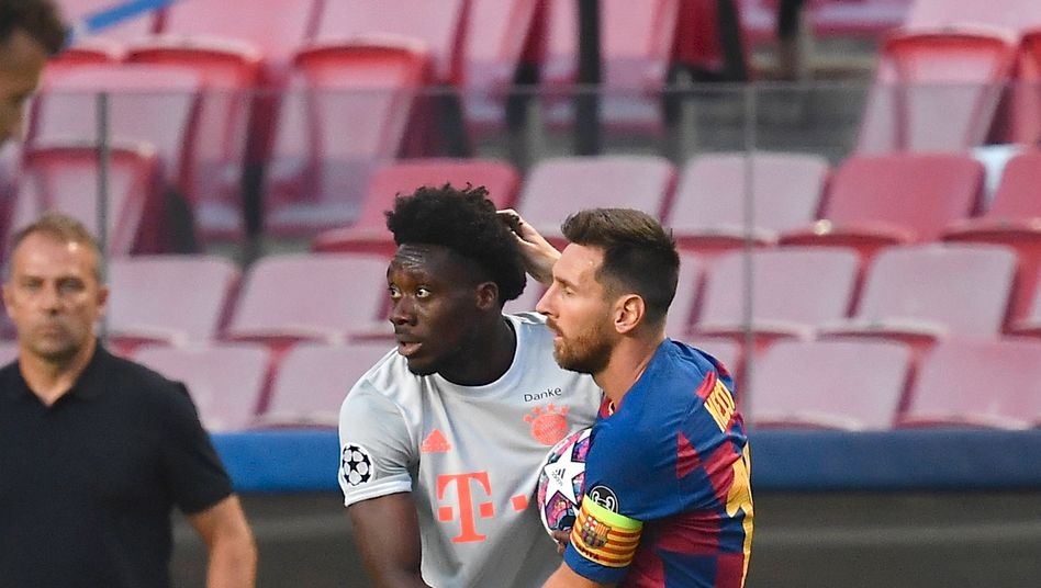 Alphonso Davies: Ein 19-Jähriger gegen Messi, den besten Fußballer der Welt