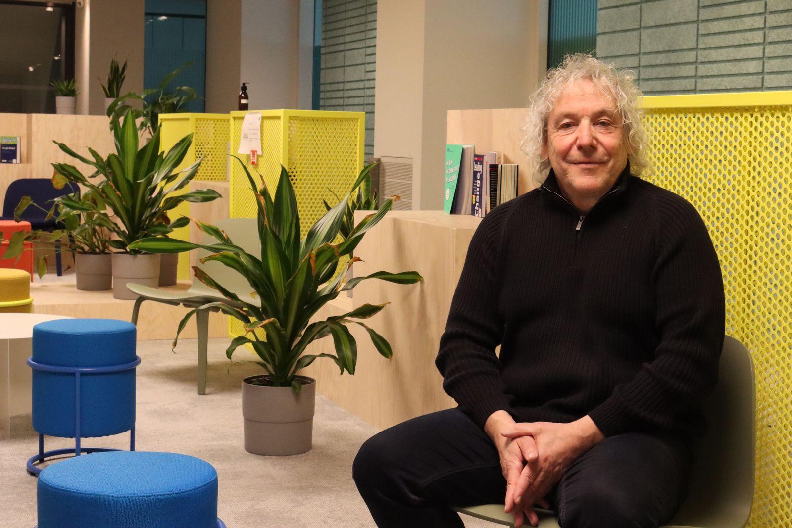 Mobilitätsexperte Prof. Dr. Andreas Knie vom Wissenschaftszentrum Berlin am Standort in der Hardenbergstraße