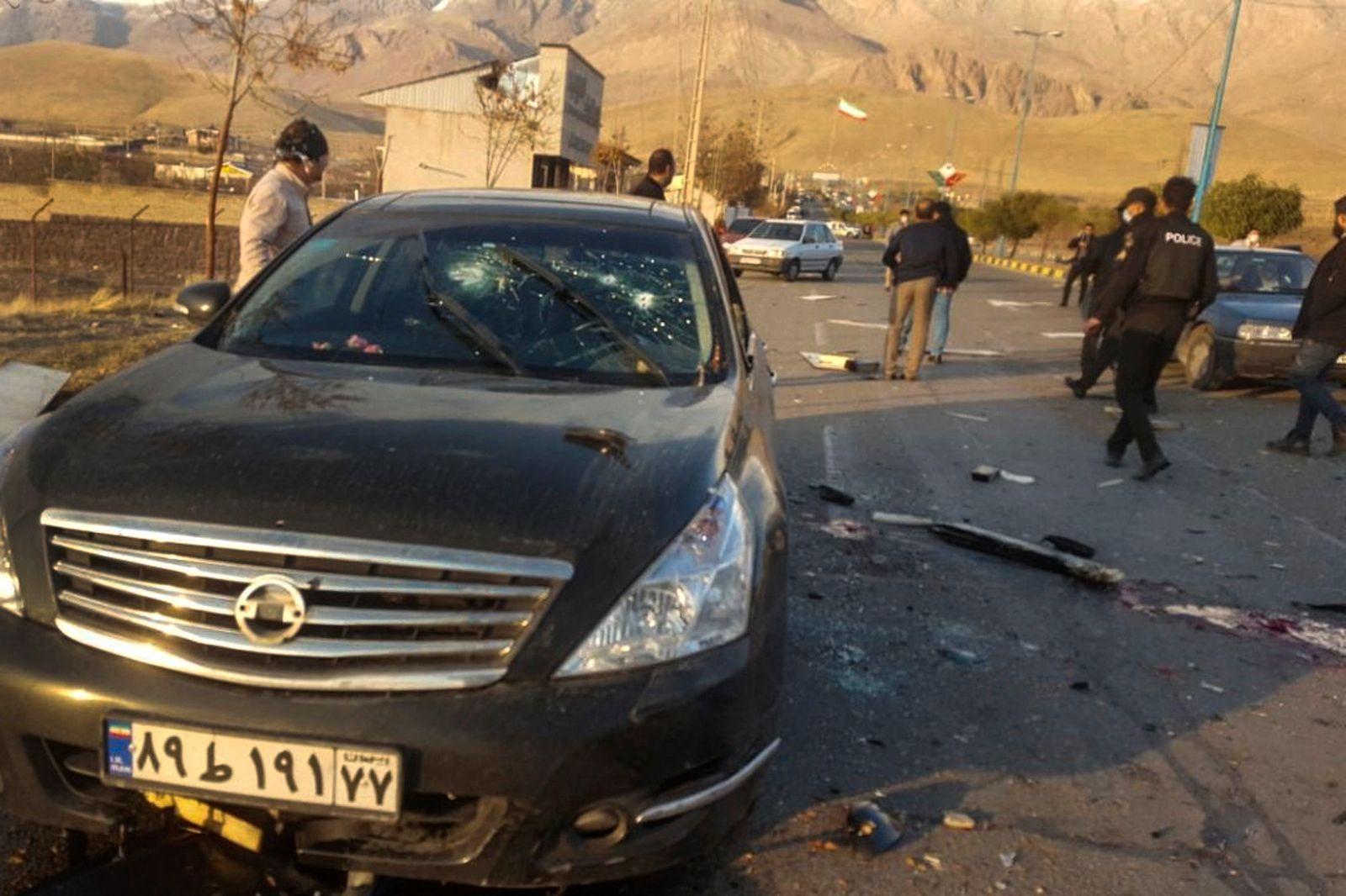 Iranischer Atomphysiker in Teheran ermordet