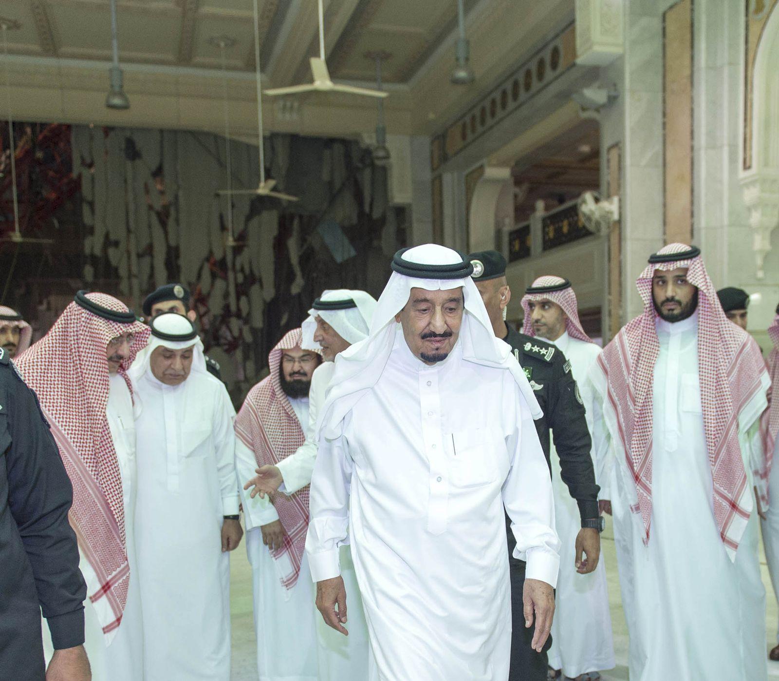 König Salman Saudi-Arabien, Mekka