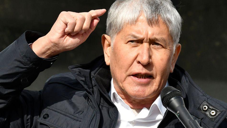 Ex-Präsident Almasbek Atambajew