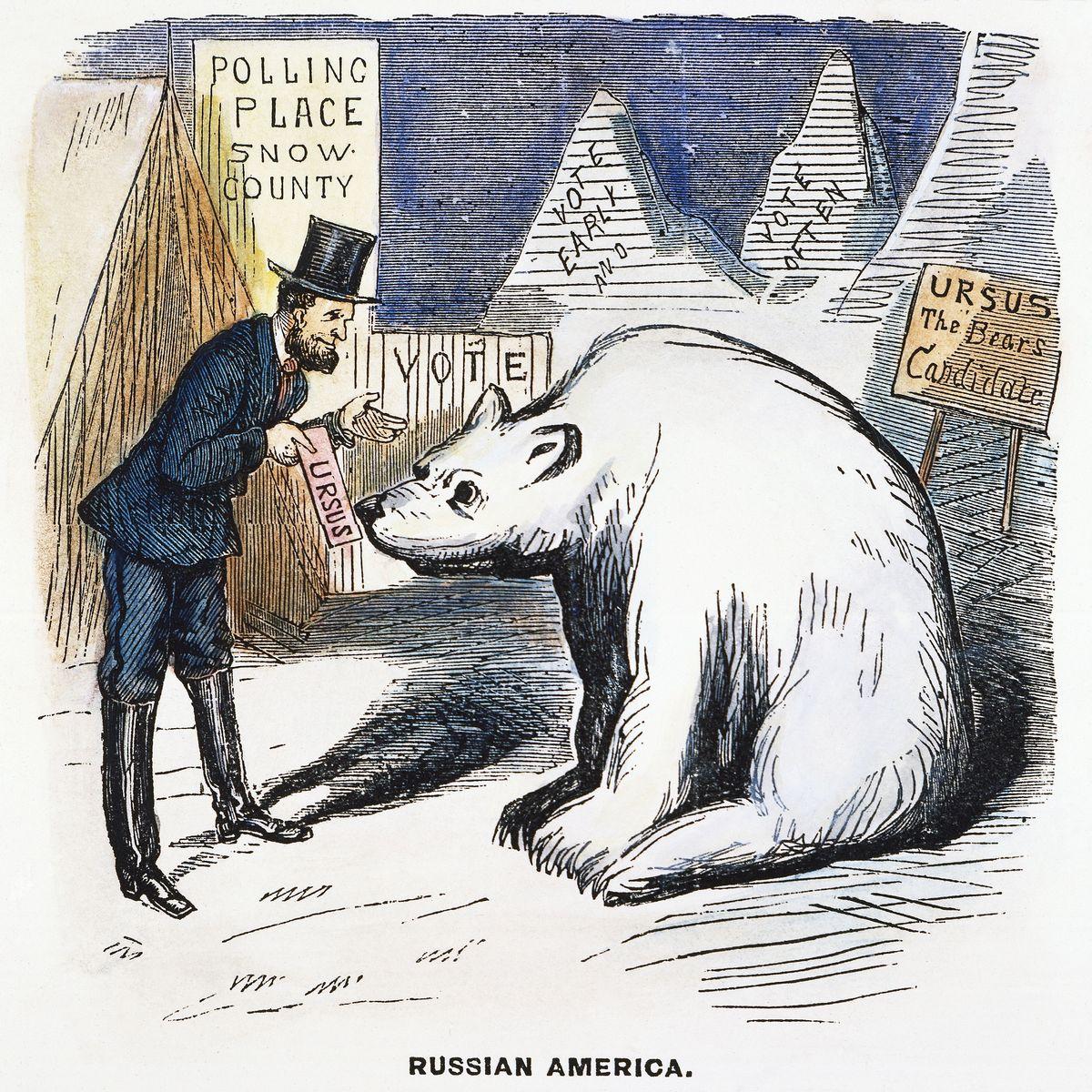 Als die USA Alaska von Russland kauften: Schatzkammer zum Schnäppchenpreis
