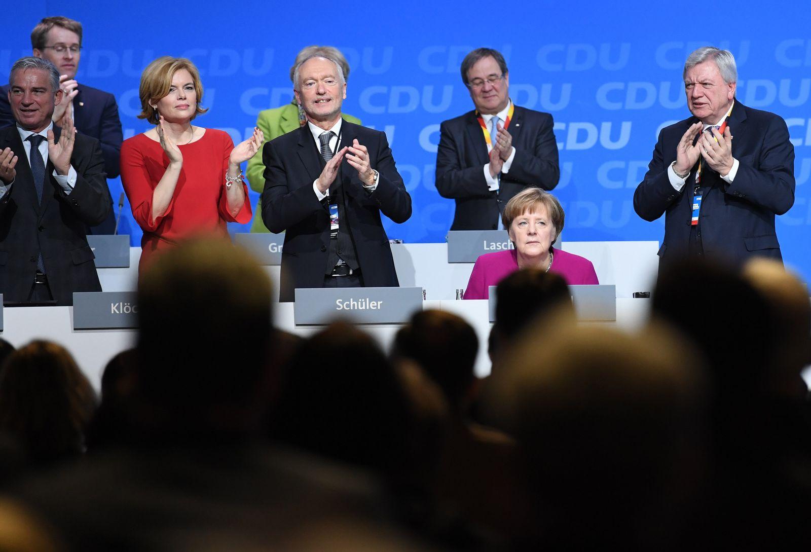 CDU/ Bundesparteitag/ Merkel