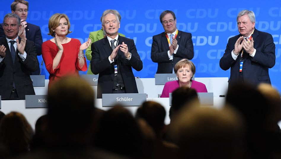 Merkel auf dem CDU-Parteitag