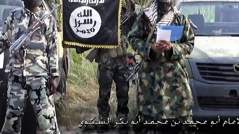 Boko-Haram-Terroristen in Nigeria