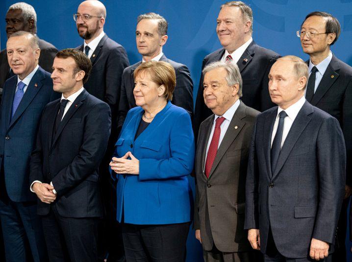 """Teilnehmer der Libyen-Konferenz in Berlin: """"Die Berliner Konferenz wird von den externen Akteuren in Libyen nicht ernst genommen"""""""