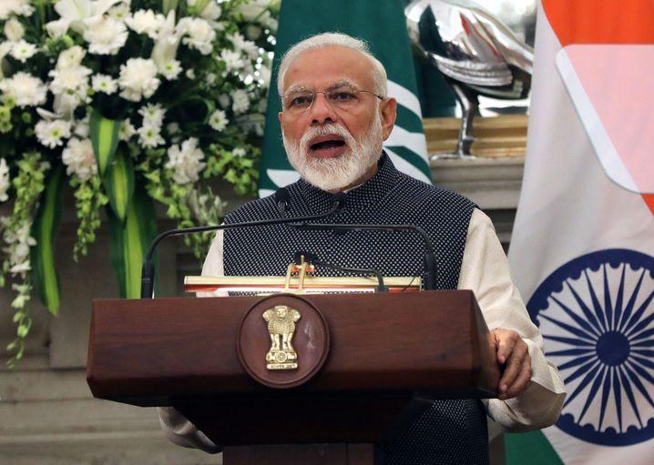 Indiens Premier Narendra Modi