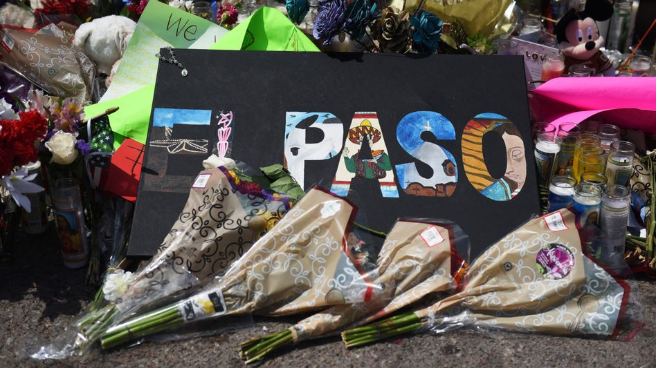 Massenmord in einem Walmart in El Paso: 22 Todesopfer