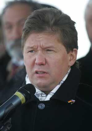 Gazprom-Chef Miller: Den Altkanzler angeworben