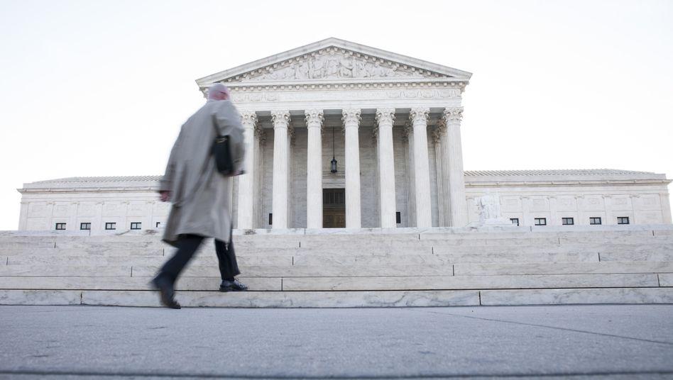 Das Gebäude des Supreme Courts