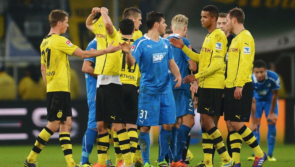 Hoffenheim vs. Dortmund: Aufholjagd ohne Happy End