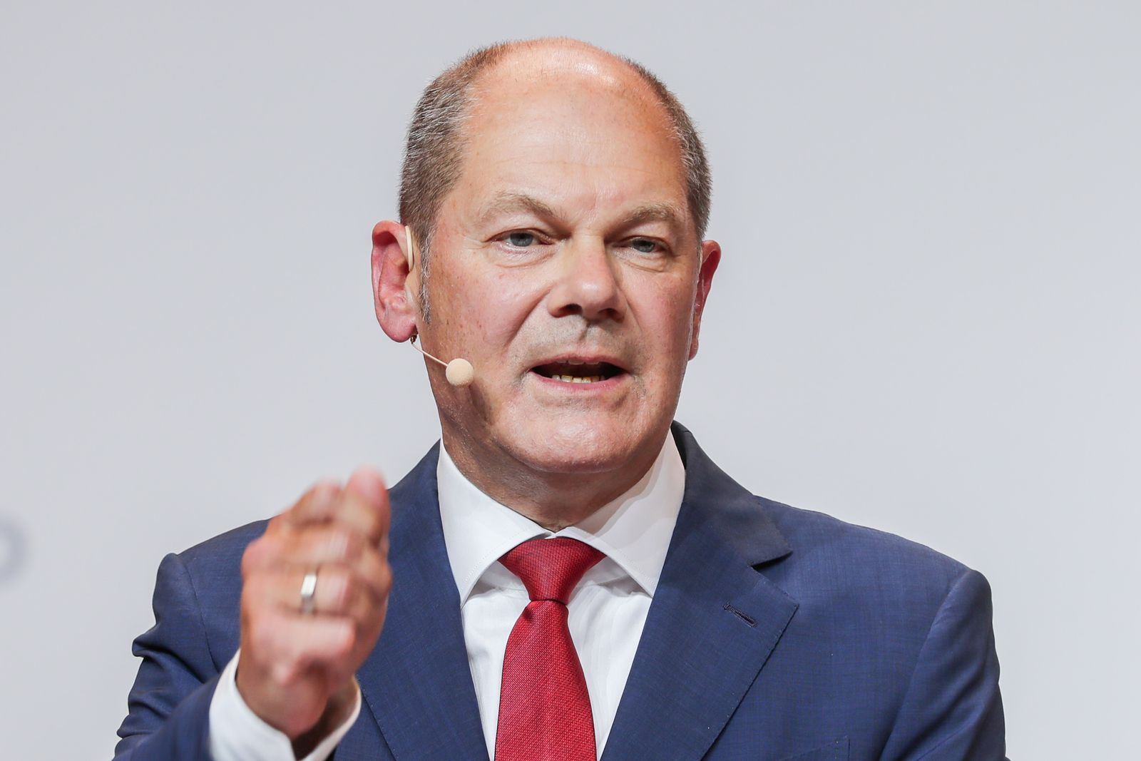 German Minister of Finance Olaf Scholz announces to run for chancellorship, Berlin, Germany - 10 Aug 2020