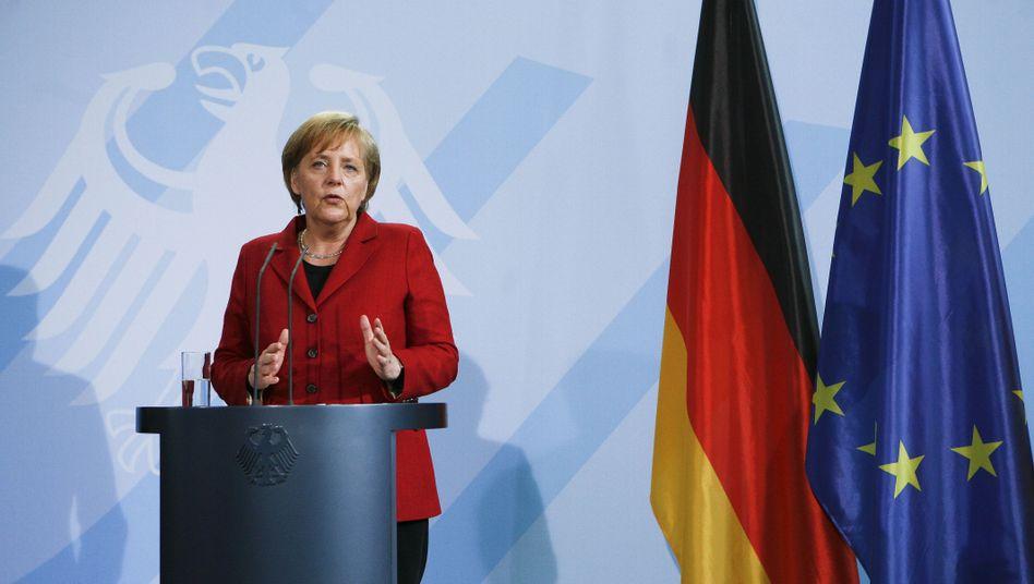 Kanzlerin Merkel: Noch ist sie nicht ernsthaft gefährdet