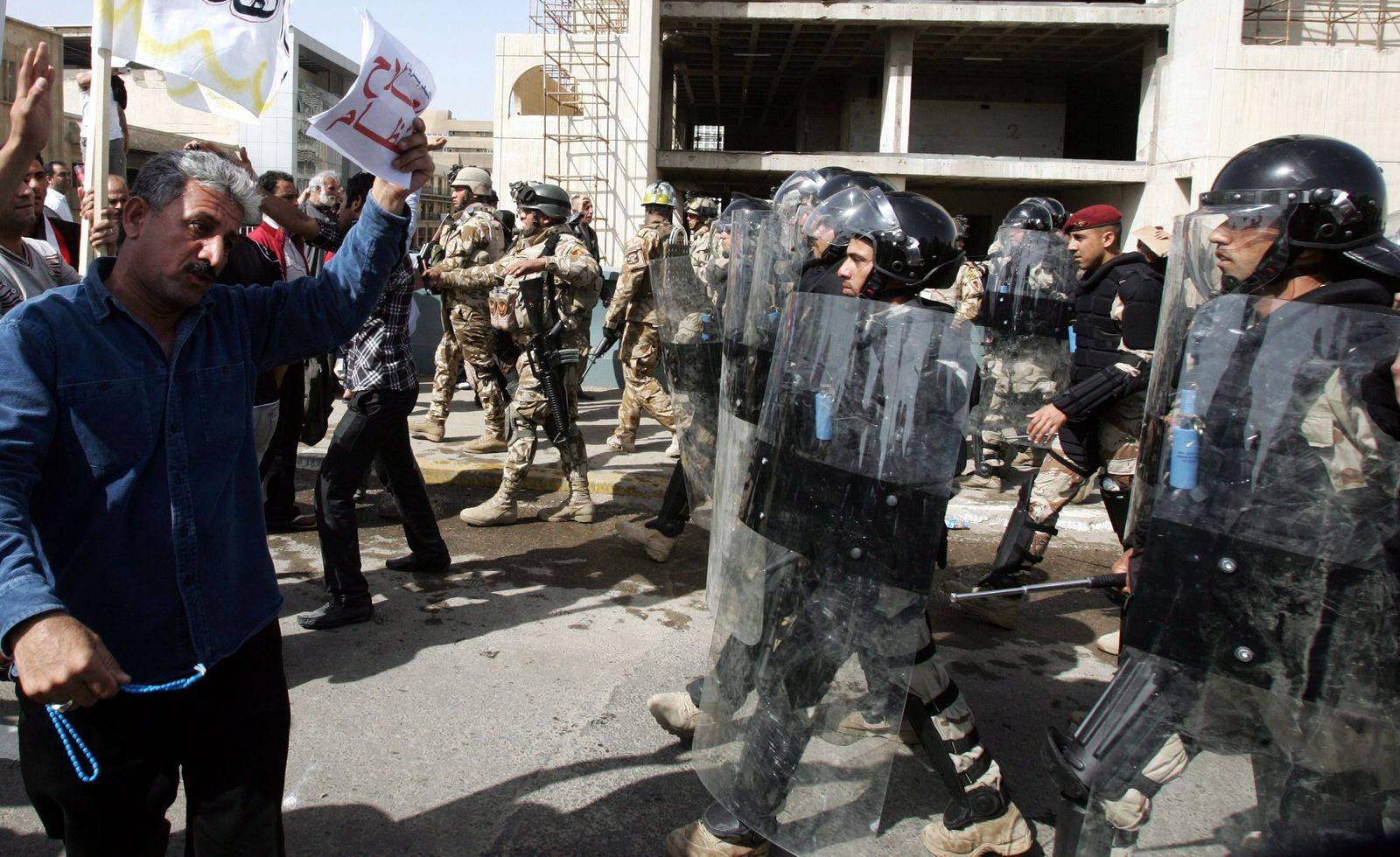 Bagdad Protest