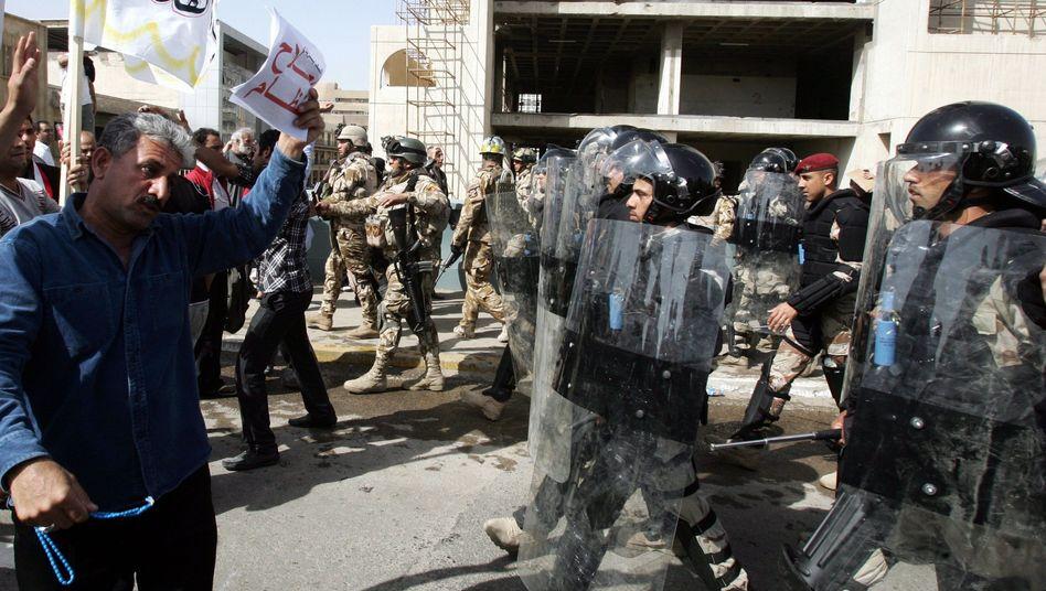 Proteste in Bagdad: Zahlreiche Tote bei Zusammenstößen