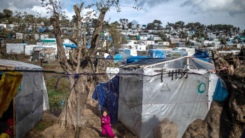 Camp Moria auf Lesbos: Angst vor dem Virus