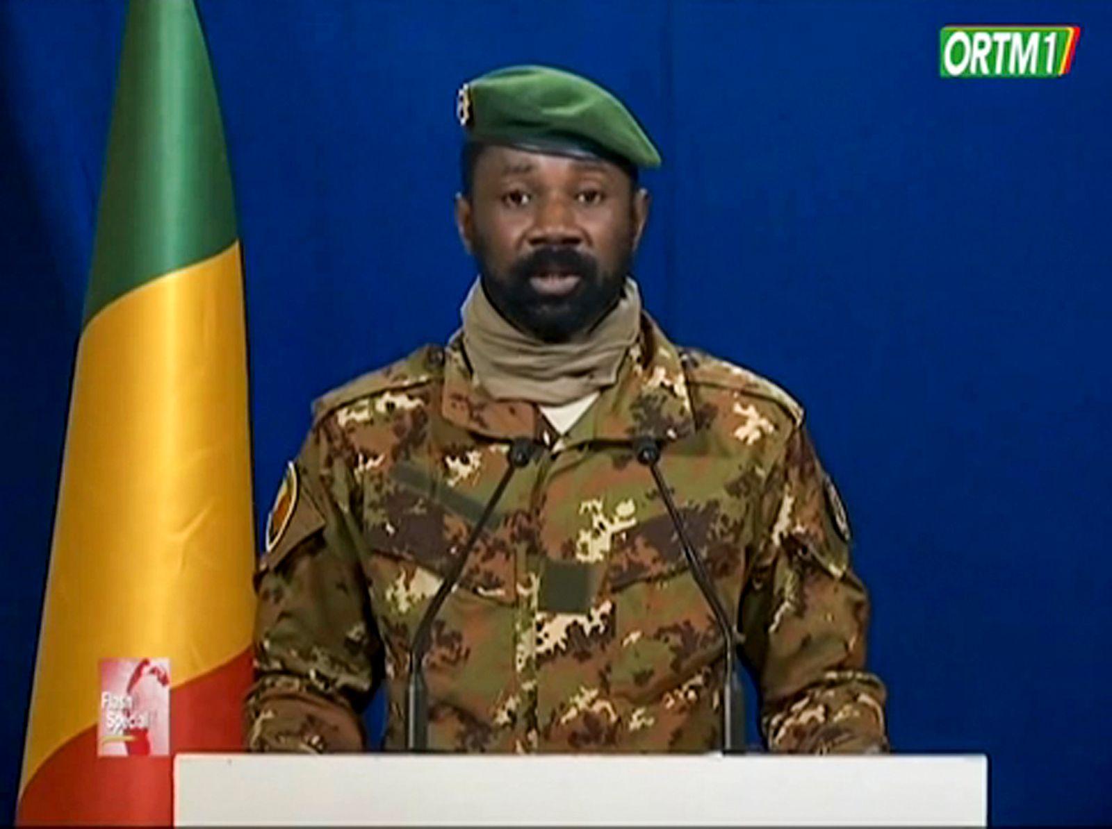 Militärjunta in Mali ernennt Übergangs- und Vizepräsidenten