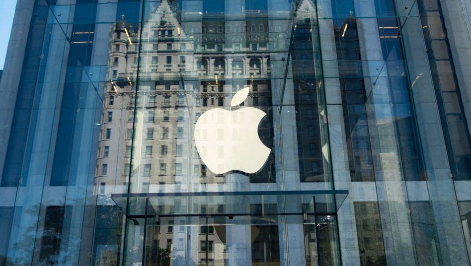 Apple-Store in New York: Die Einigung sei nicht mit einem Schuldeingeständnis verbunden